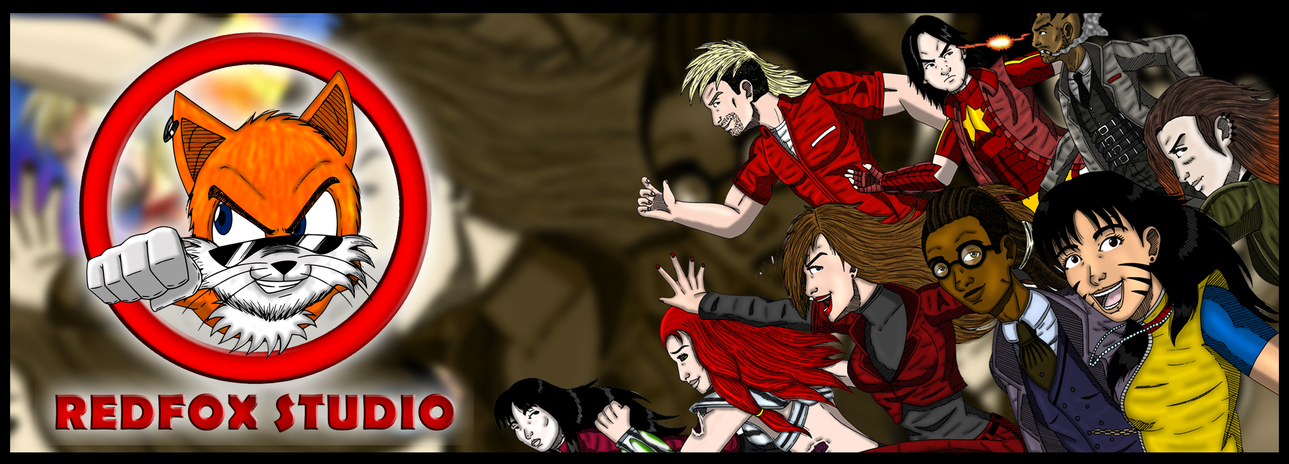Redfox comics logo padrim c%c3%b3pia