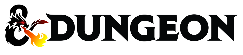 Dungeon logo horizontal