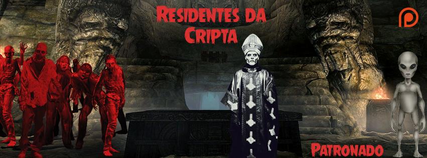 Facebook residentes da cripta