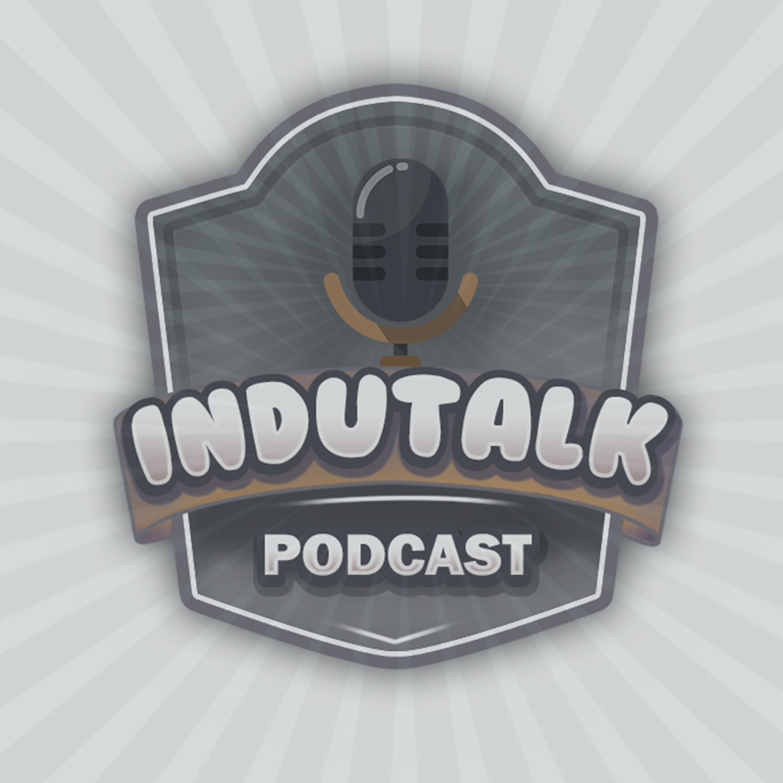 Capa podcast logo indutalk