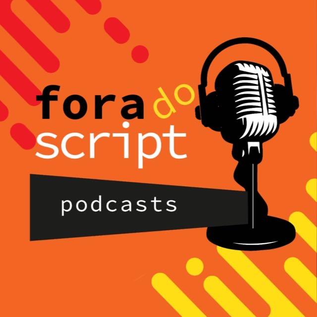 Fora do script podcasts logo