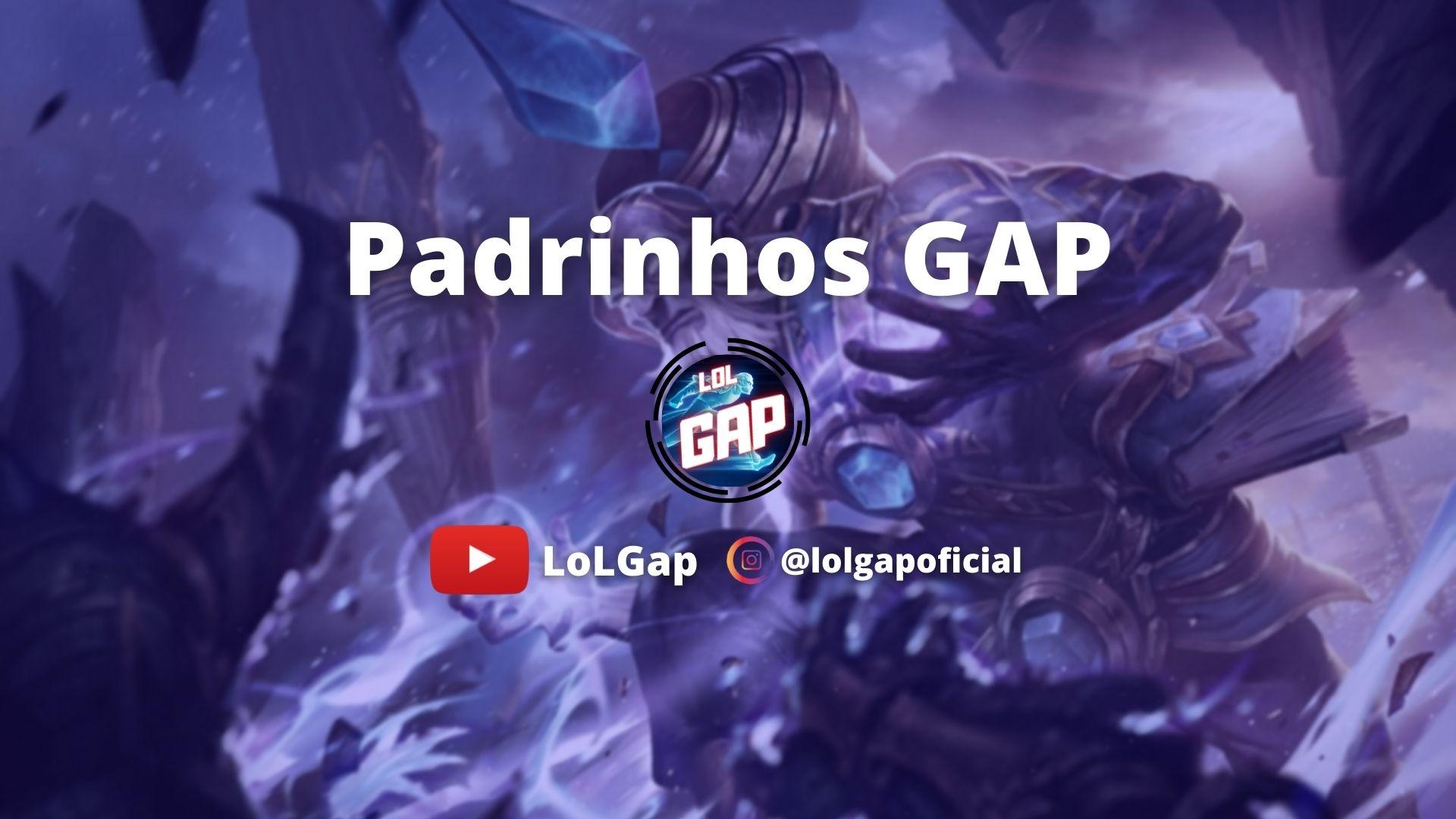 Padrinhos gap  2